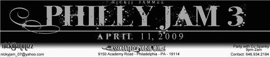 Philly Jam 3 Banner